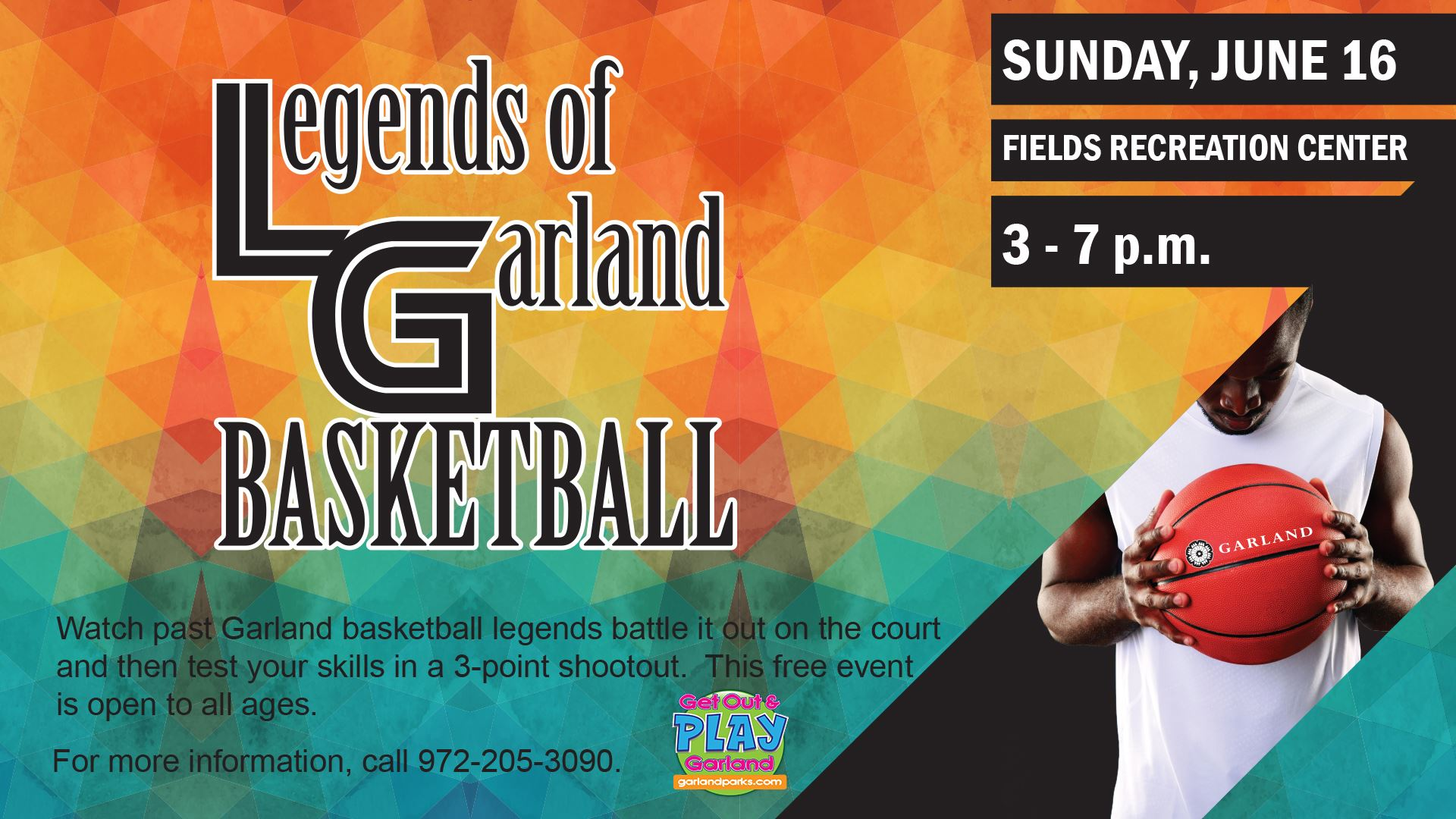 Legends of Basketball event on June 16