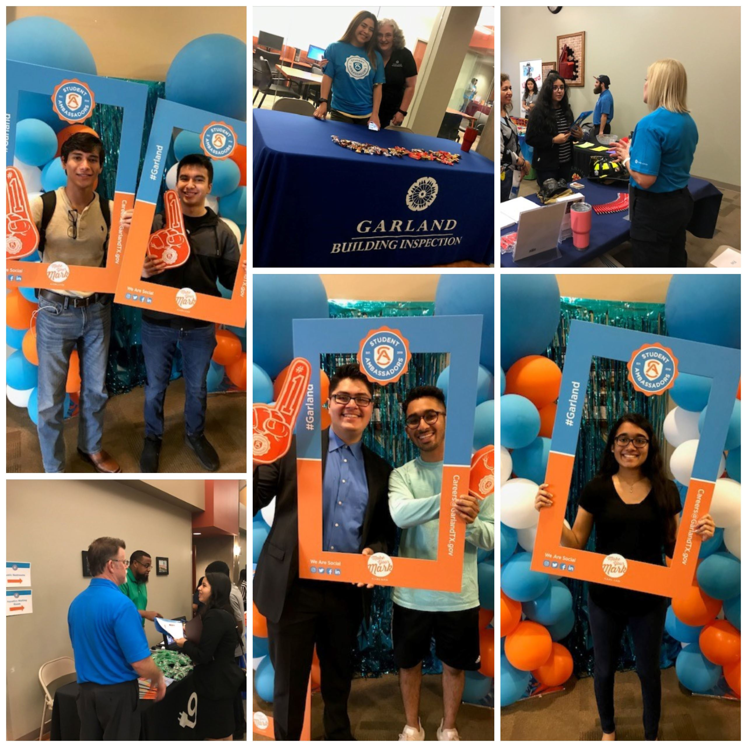 Students at Student Ambassador Hiring Event