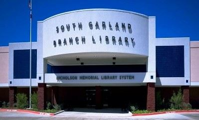Picture of the front of the South Garland Branch