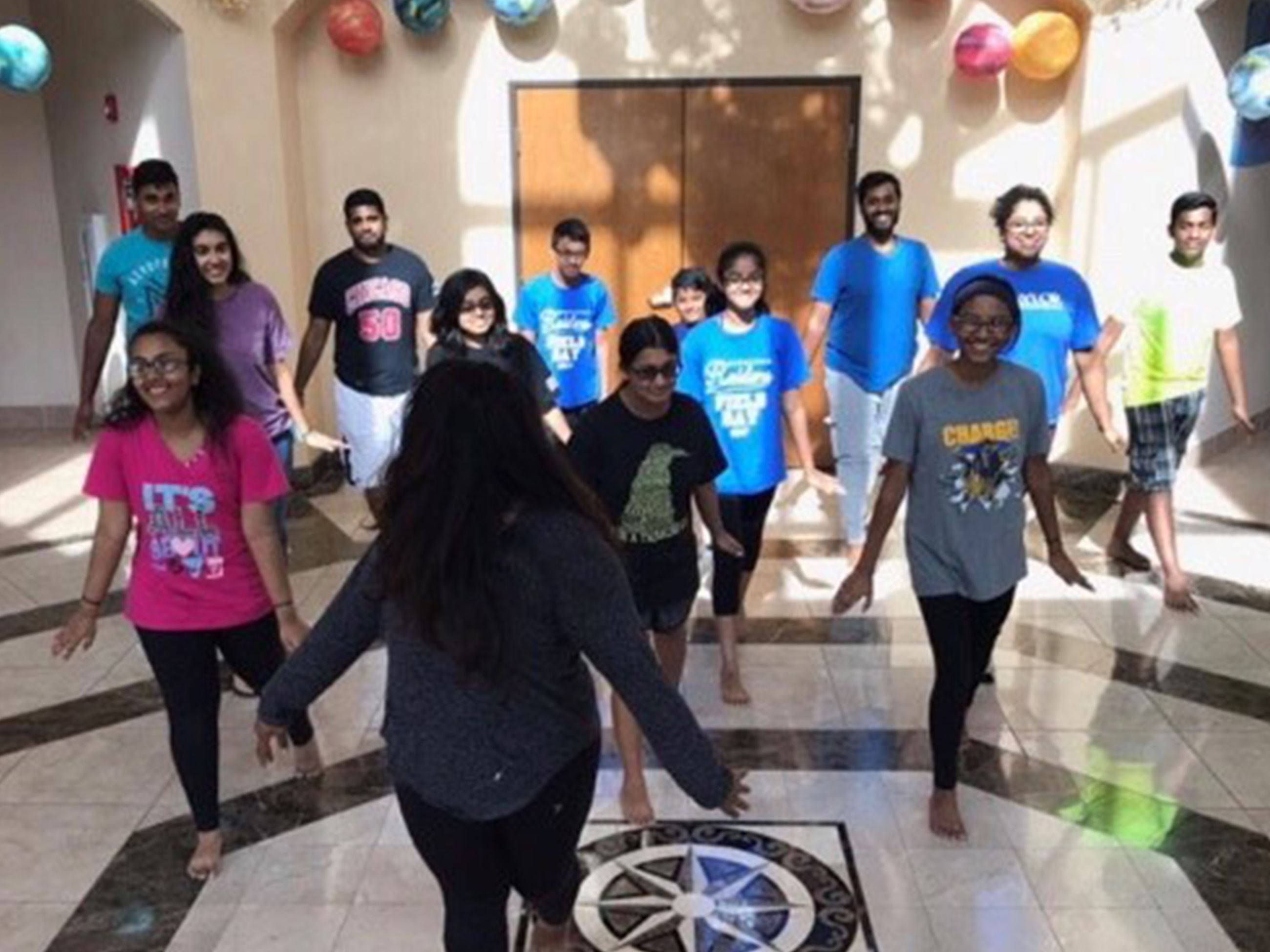 People participating in Bollywood Dance Fitness