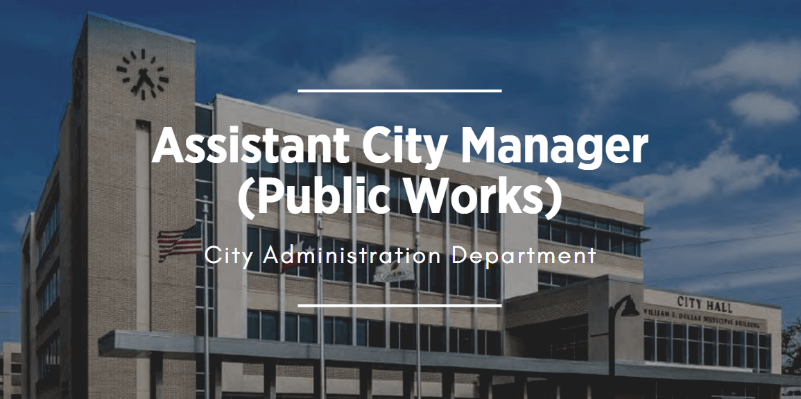 building image that links to Assistant City Manager position  Opens in new window